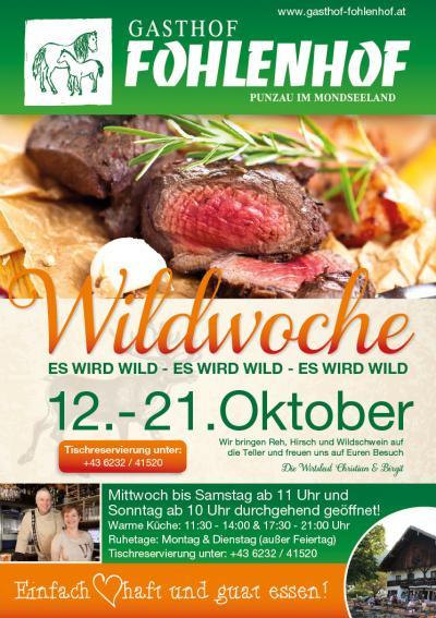 Wildwochen 2018