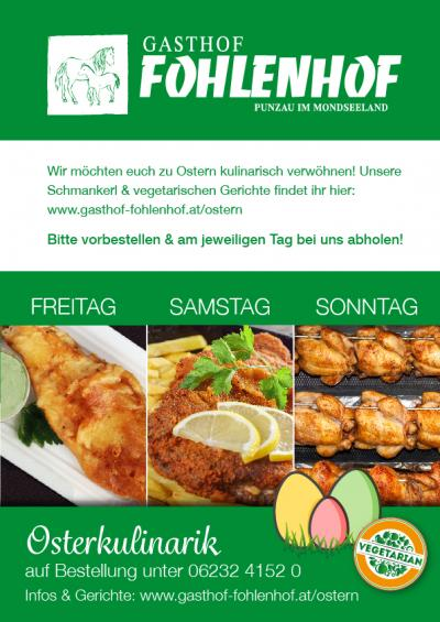 Gasthof Fohlenhof - Osterkulinarik A4