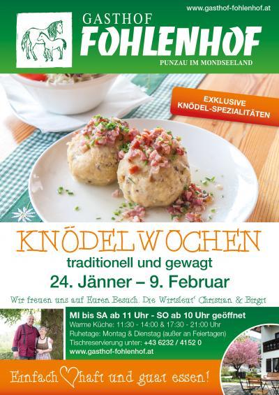 Knödelwoche biem Gasthof Fohlenhof