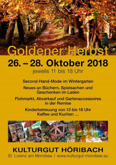 Goldener Herbst am Höribach