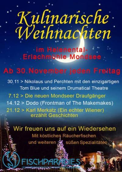 kulinarische Weihnachten im Helenental