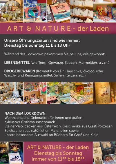 ART & NATURE - der Laden